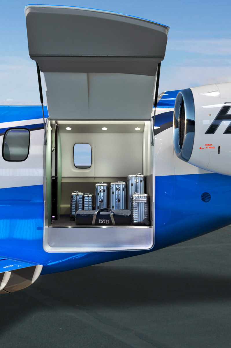 Pilatus PC-24 cargo door. Artist's impression copyright © 2014 Pilatus Aircraft