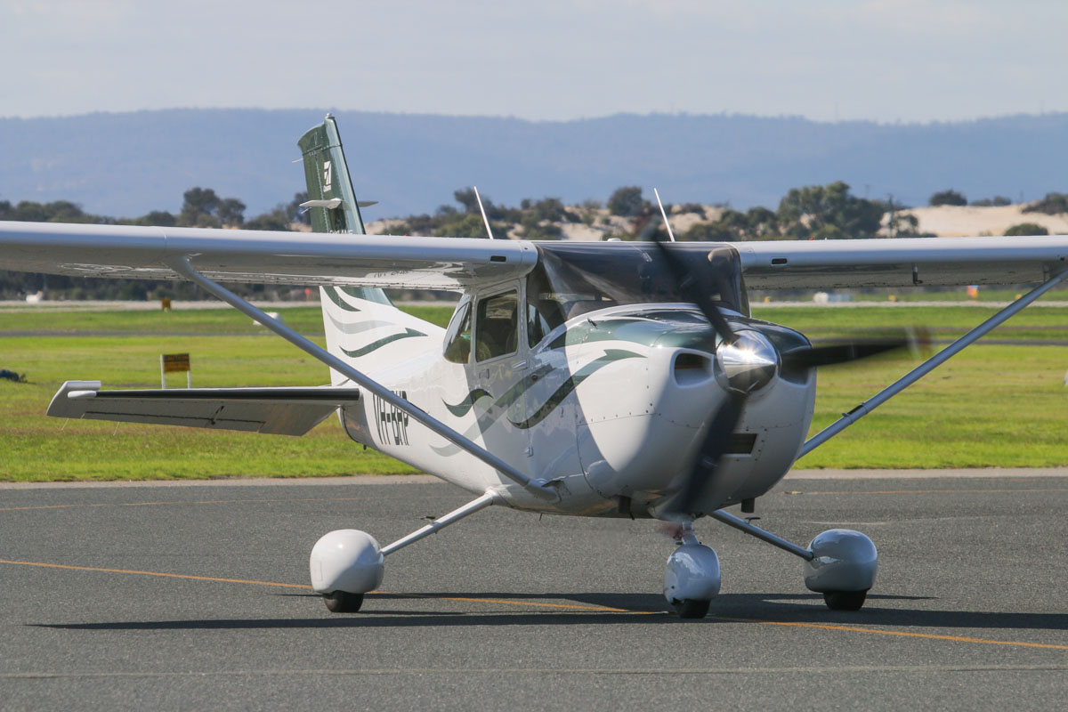 VH-BHP Cessna 182T Skylane (MSN 18282054) owned by DM Drainage and Constructions Pty Ltd, at Jandakot Airport - Fri 30 May 2014. Photo © David Eyre