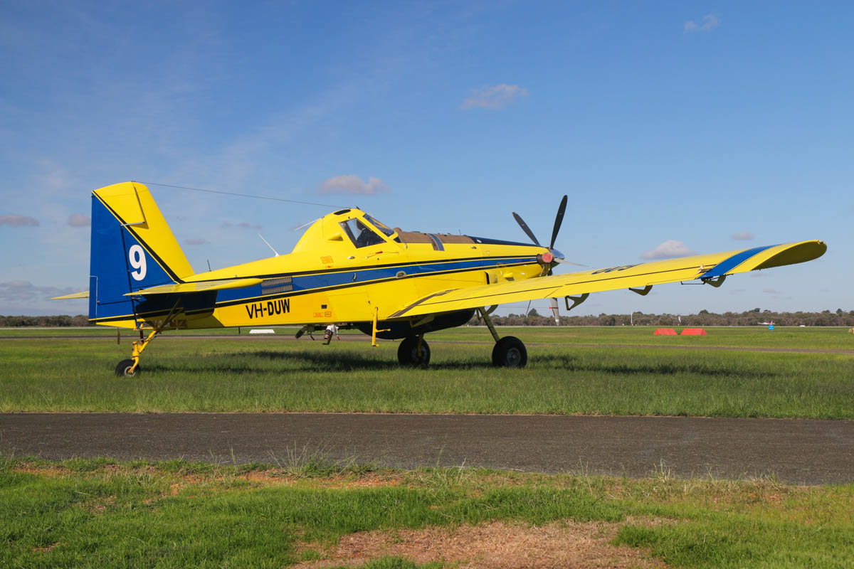 VH-DUW / BOMBER 609 Air Tractor AT-802A (MSN 802A-0328) of Dunn Aviation (Mal Dunn Pty Ltd), at Jandakot Airport – Fri 30 May 2014. Photo © David Eyre