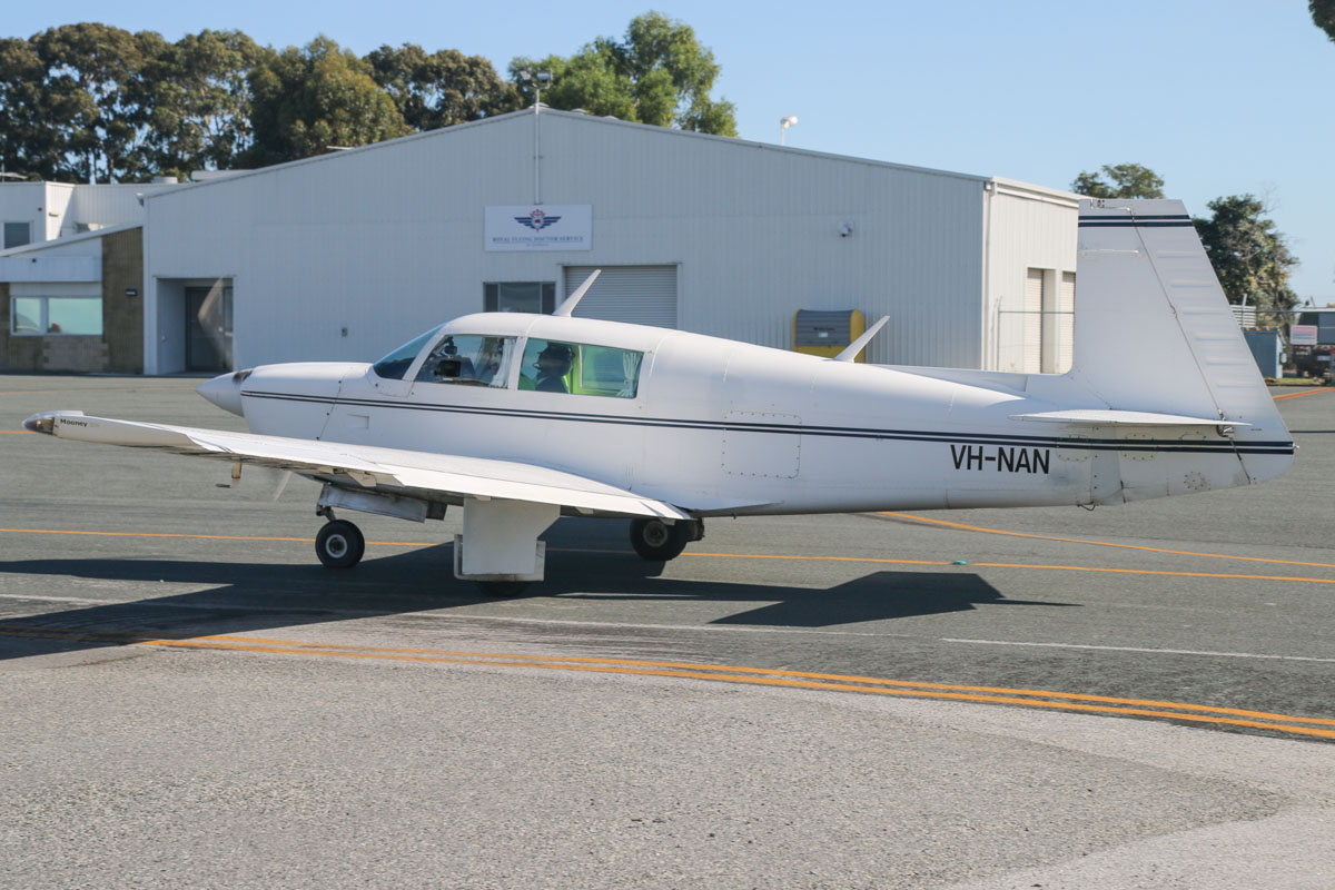 VH-NAN Mooney M20J (201) (MSN 24-1294) of Jandakot Flight Centre, at Jandakot Airport - Fri 30 May 2014. Photo © David Eyre