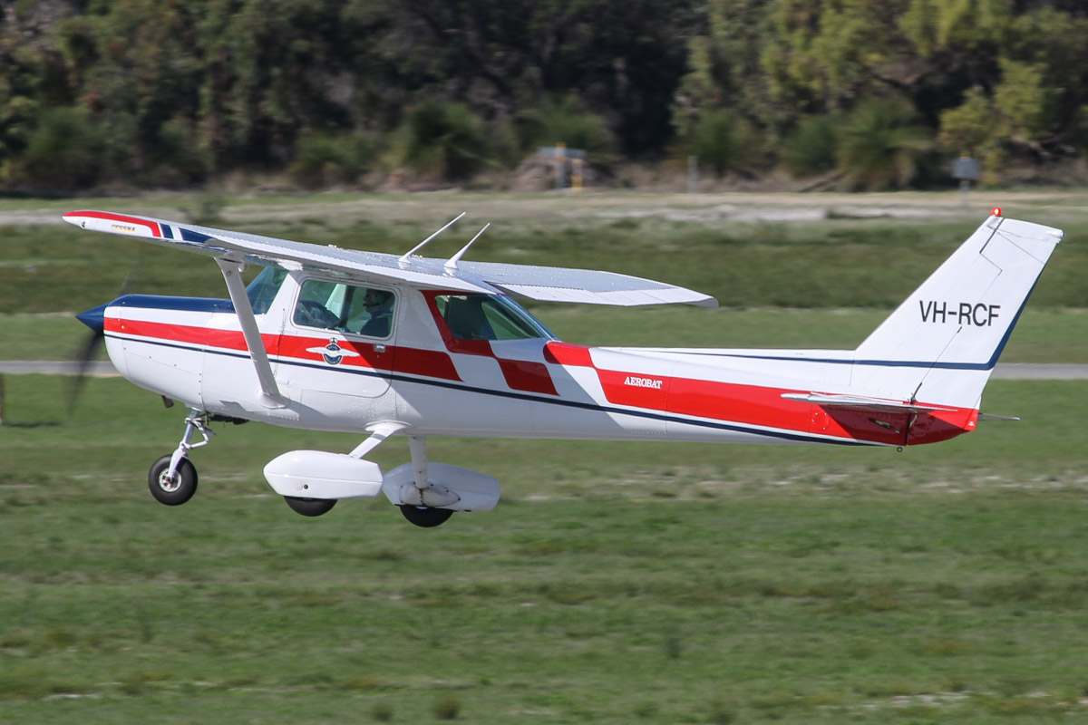 VH-RCF Cessna A152 Aerobat (MSN A1520962) of the Royal Aero Club of Western Australia Inc., at Jandakot Airport - Fri 30 May 2014. Photo © David Eyre
