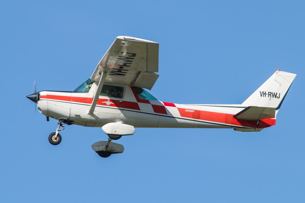 VH-RWJ Cessna A152 Aerobat (MSN A1520845) of the Royal Aero Club of WA Inc, at Jandakot Airport - Fri 30 May 2014. Photo © David Eyre