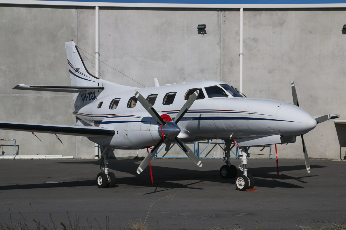 VH-ZGX Swearingen SA227-TT Merlin IIIC (MSN TT-534) of Casair, at Jandakot Airport – Fri 30 May 2014. Photo © David Eyre