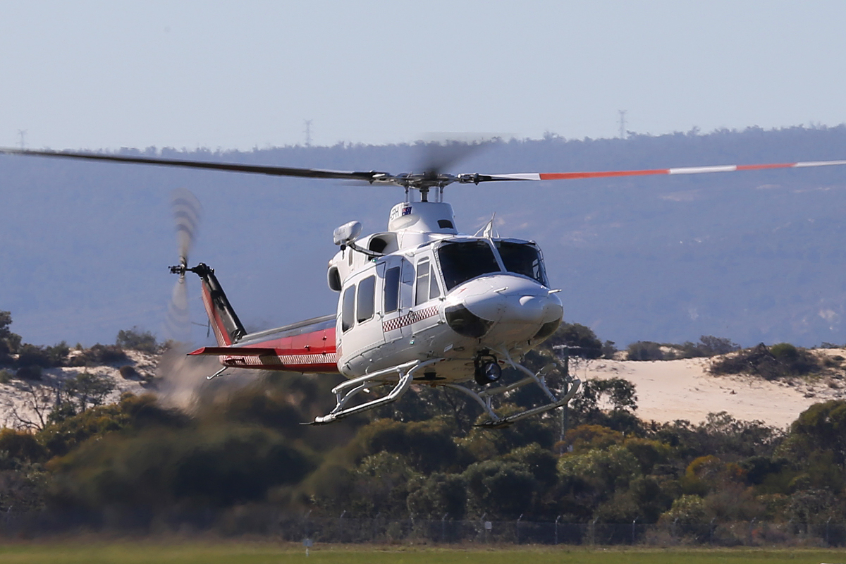 VH-EPH Bell 412EP (MSN 36419) operated by CHC Helicopter Australia Pty Ltd at Jandakot Airport – 24 June 2014