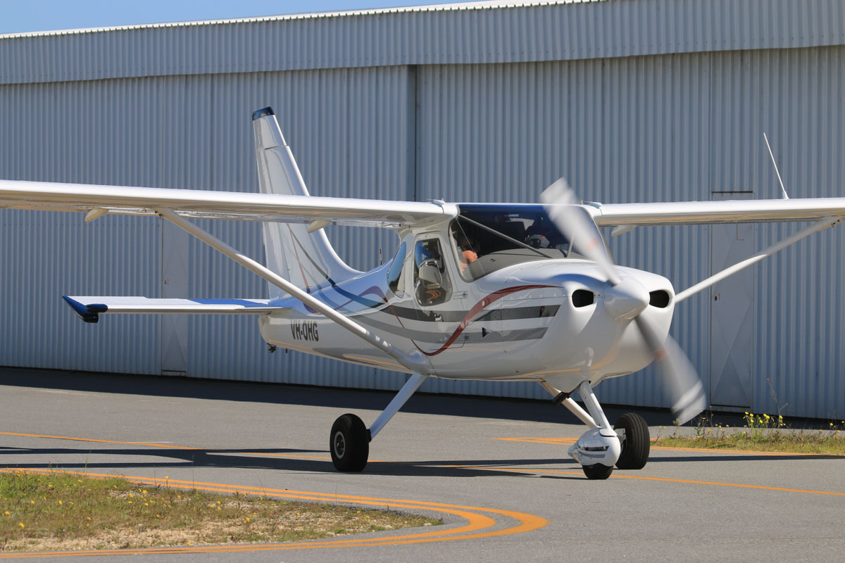 VH-OHG Glasair Sportsman (MSN 7380) owned by Quintin J Baillie, at Jandakot Airport - Sun 3 August 2014. Built in 2013. Photo © David Eyre
