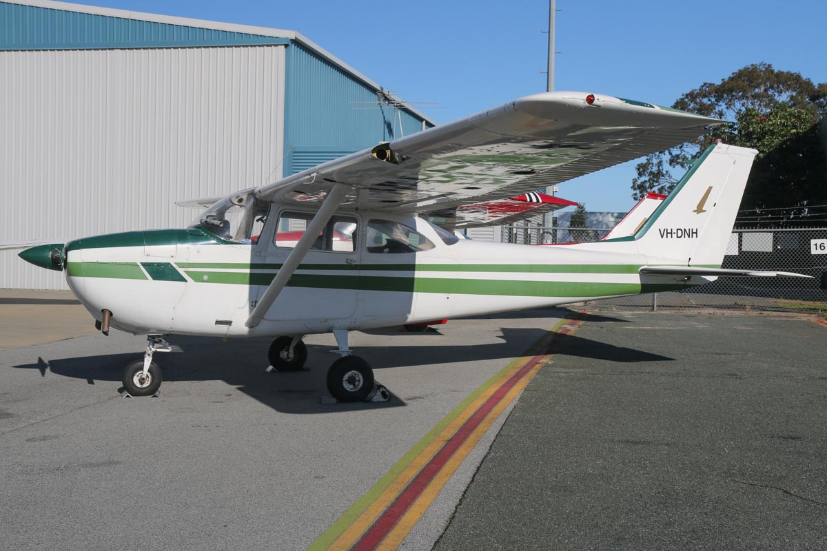 VH-DNH Cessna 172F Skyhawk (MSN 17252687, ex N8783U) owned by Murray Pipe, at Jandakot Airport - Sat 13 September 2014. Photo © David Eyre