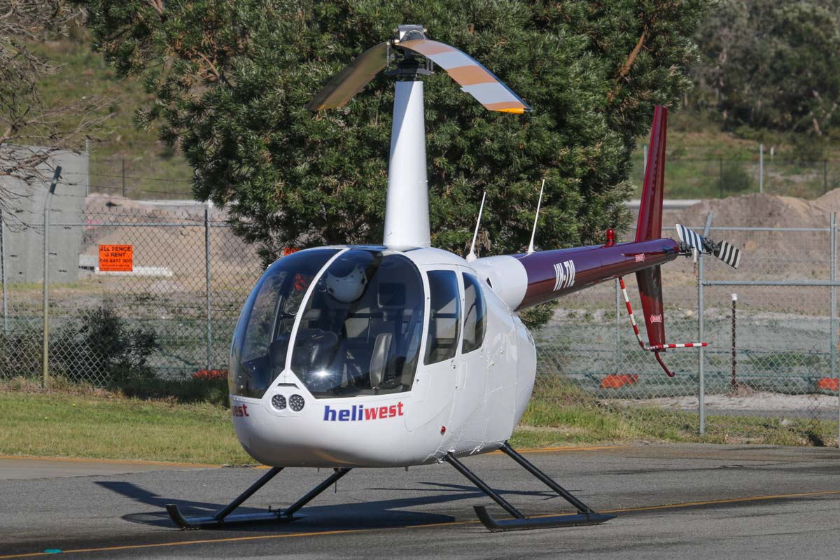 VH-TVL Robinson R44 Raven II (MSN 11257) owned by Heliwest, at Jandakot Airport - Sat 13 September 2014. Photo © David Eyre