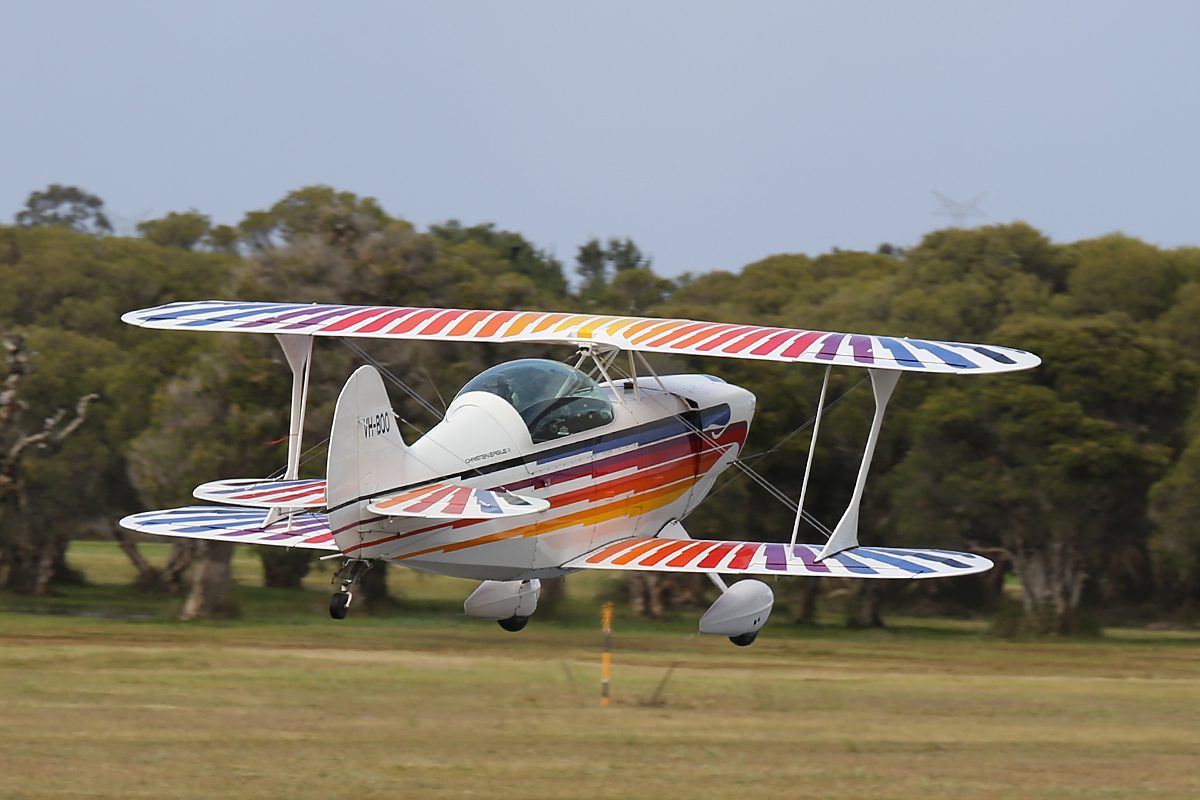 VH-BQO Christen Eagle II (MSN V81) at Serpentine Airfield – 28 Sept 2014