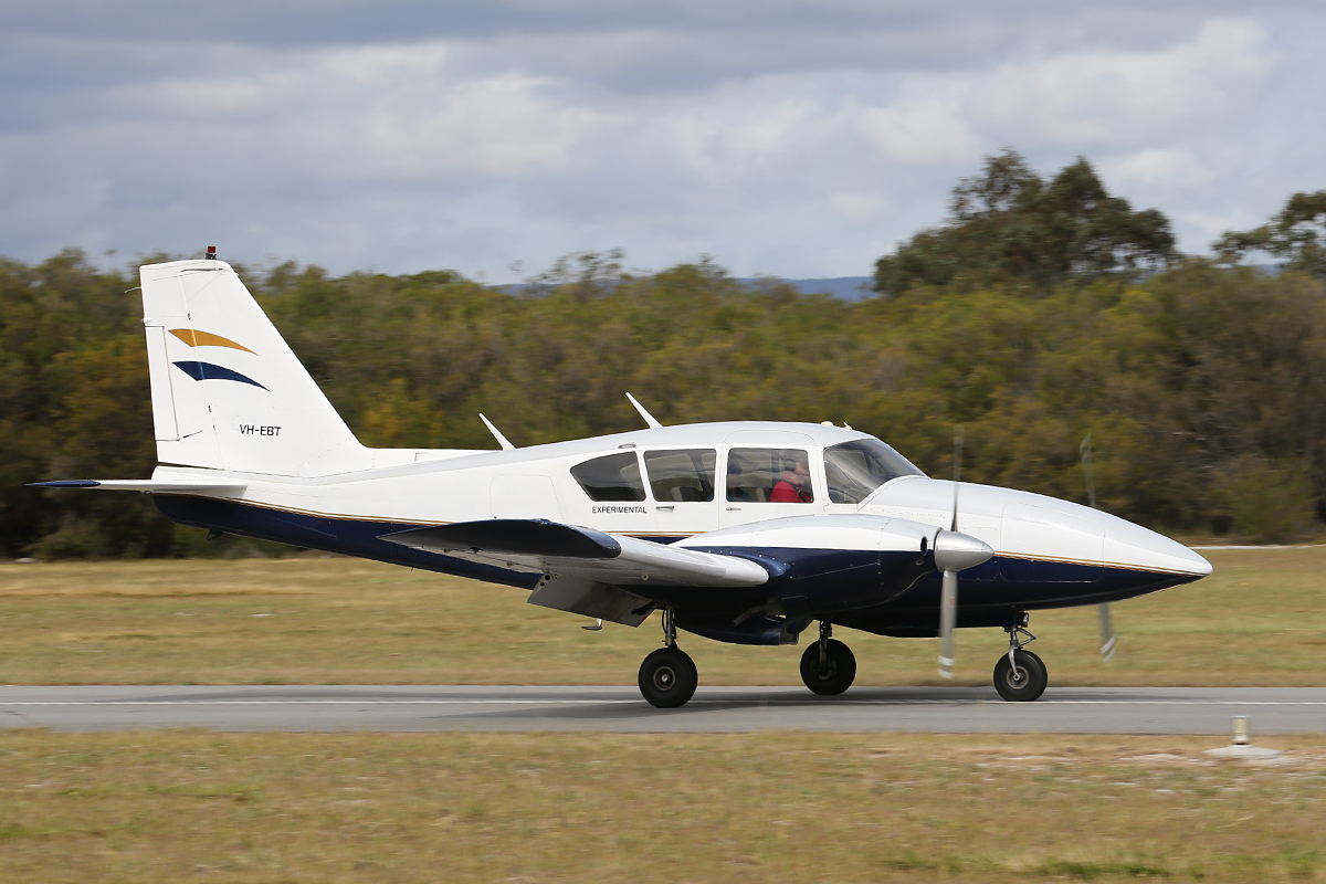 VH-EBT Bitser (Experimental) Amatuer built aircraft at Serpentine Airfield – 28 Sept 2014
