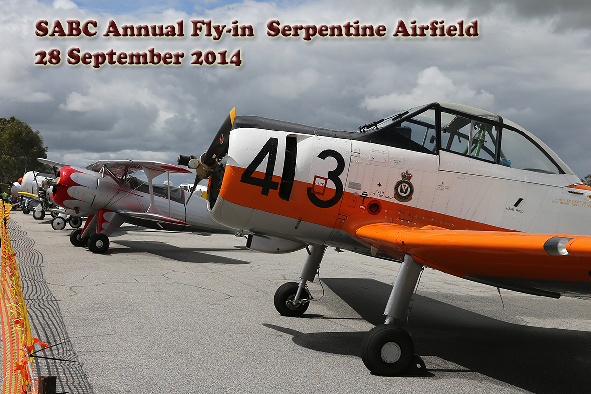 Serpentine Airfield – 28 Sept 2014