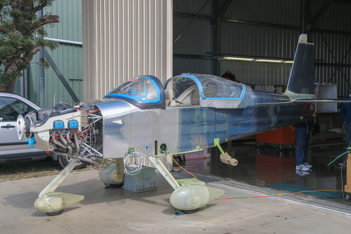 Unregistered Vans RV-7A under construction, at SABC Annual Fly In, Serpentine Airfield – Sun 28 September 2014. Photo © David Eyre