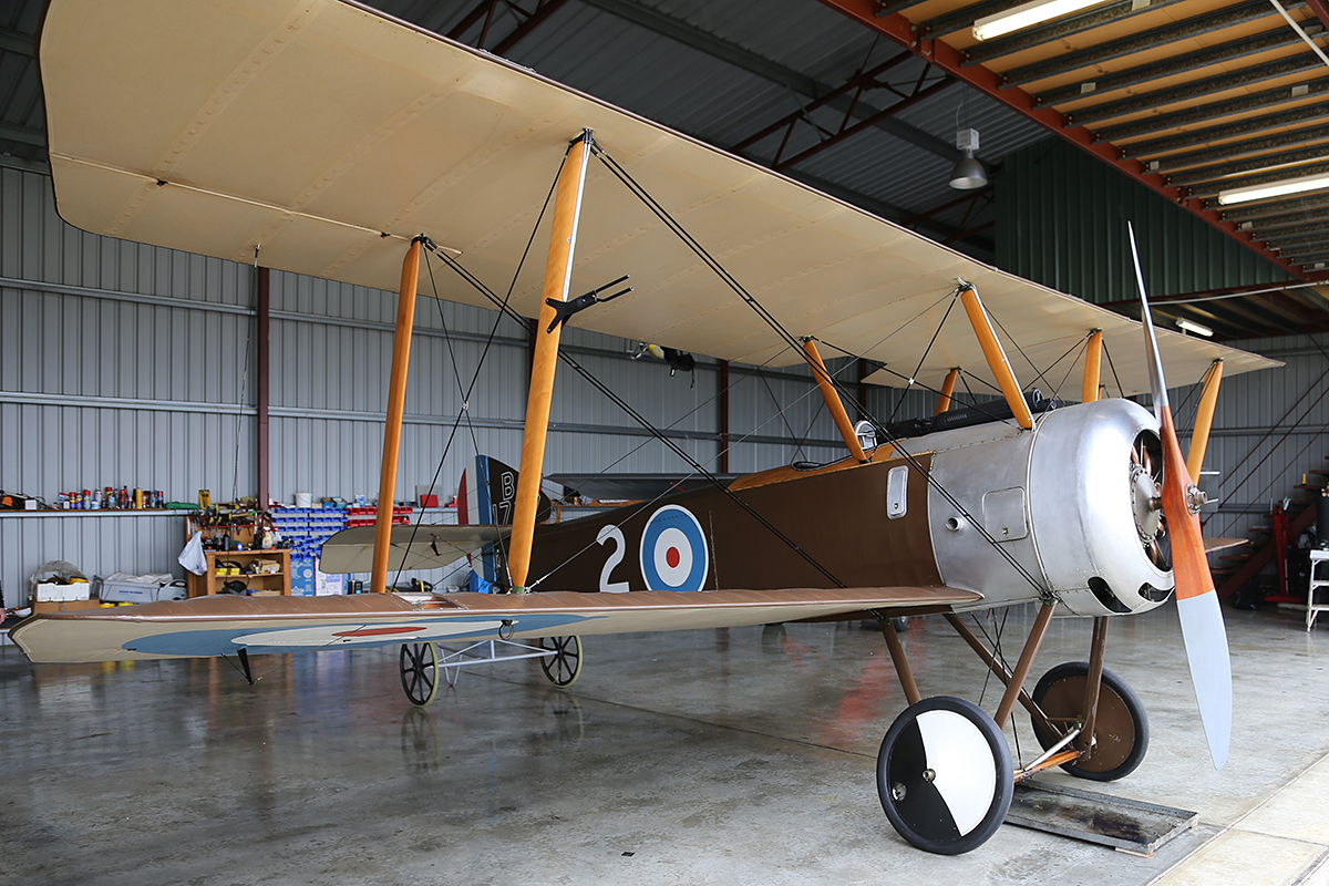 VH-NHD Sopwith Pup at Serpentine Airfield – 28 Sept 2014.