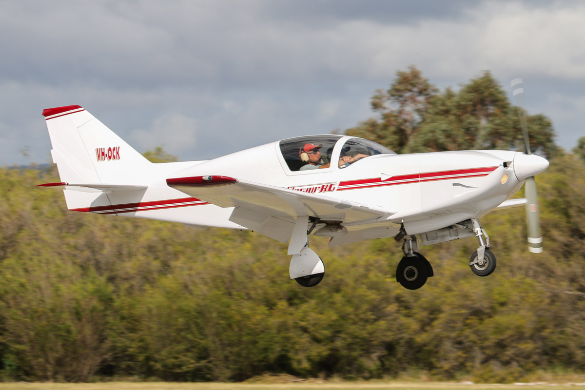 VH-OCK Stoddard Hamilton Glasair GII-S-RG (MSN W130) owned by Luciano Marino, at SABC Annual Fly In, Serpentine Airfield – Sun 28 September 2014. Built in 1989. Photo © David Eyre