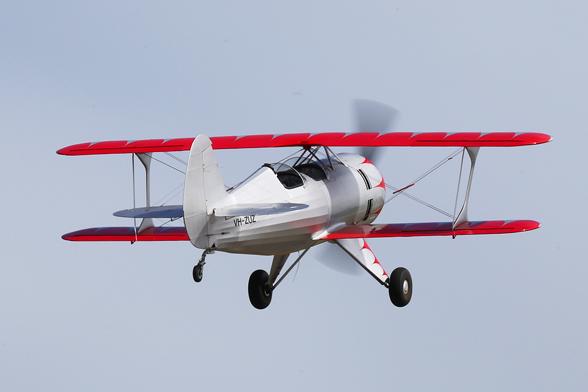 VH-ZUZ Culp Special (MSN CS-1947) at Serpentine Airfield – Sun 28 Sept 2014.