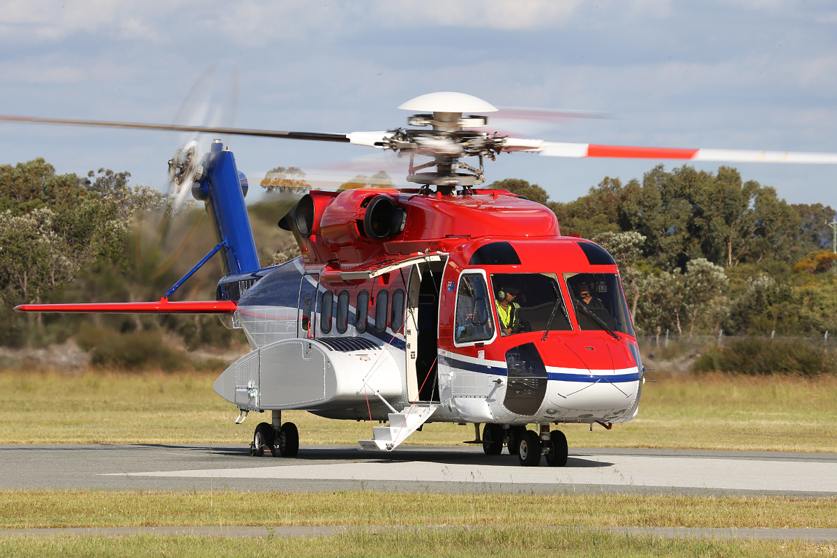 VH-LOH Sikorsky S-92A (MSN 920036) of CHC Helicopters at Jandakot Airport – 8 Oct 2014