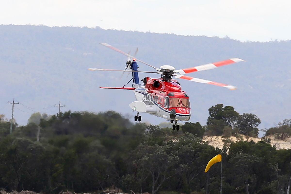 VH-LOH Sikorsky S-92A (MSN 920036) of CHC Helicopters at Jandakot Airport – 9 Oct 2014