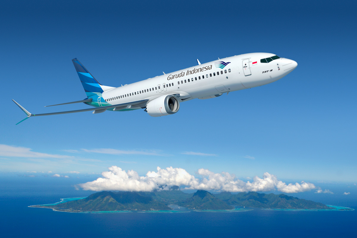 Artist impression of Boeing 737 MAX 8 aircraft. © Boeing