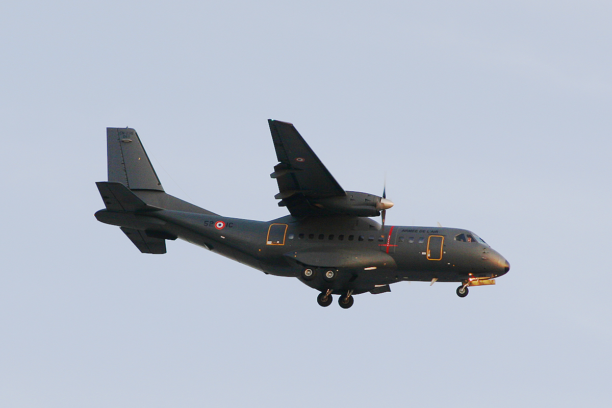 CTM1161 Casa CN 235 of the French Air Force at Perth Airport – Sat 1 Nov 2014.