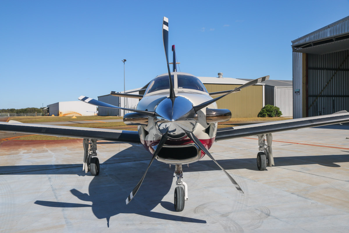 VH-LZJ SOCATA TBM 900 (MSN 1016) owned by Sarah Bely, and flown by Jean-Jacques Bely, at Jandakot Airport – Fri 14 November 2014. Built in 2014, ex N198JJ. Photo © David Eyre