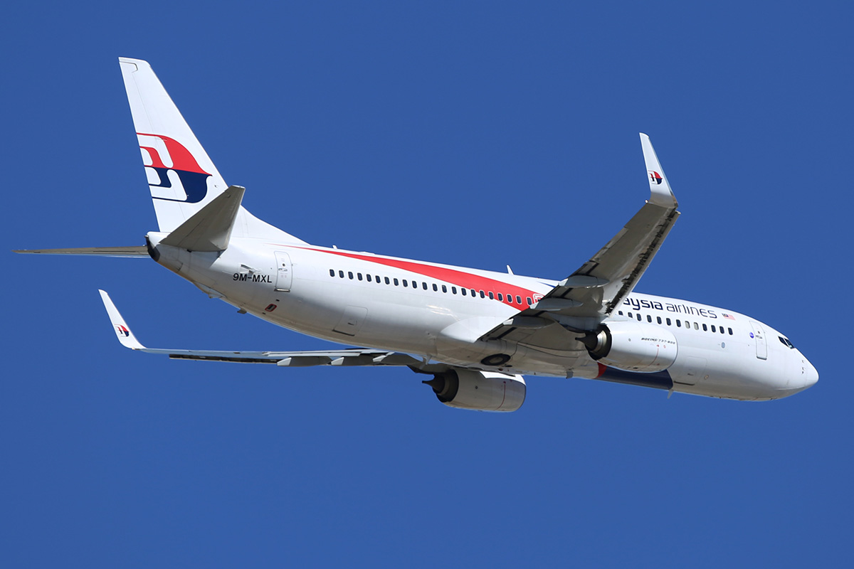9M-MXL Boeing 737-8H6 (MSN 40139/4246) of Malaysia Airlines, at Perth Airport – Sun 16 Nov 2014