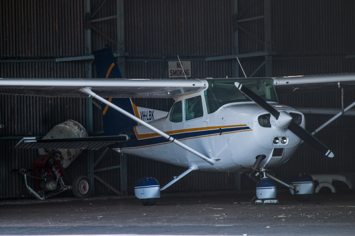 VH-LBK Cessna 172M Skyhawk (MSN 17265429, ex N5414H) owned by Shine Aviation (Chrishine Nominees Pty Ltd), at Geraldton Airport - Sat 15 November 2014. Photo © David Eyre