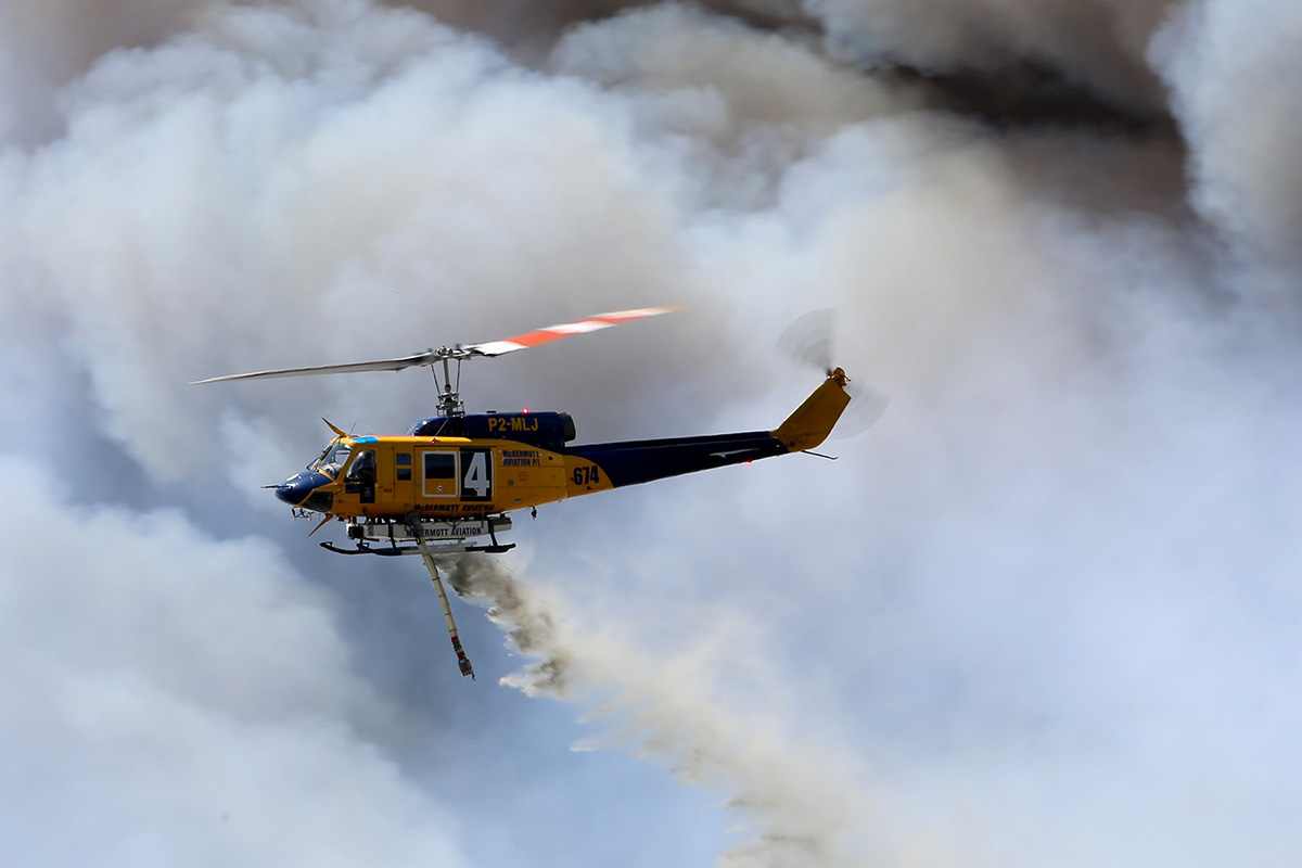 Fire fighting in Whiteman Park – Sunday 14 Dec 2014