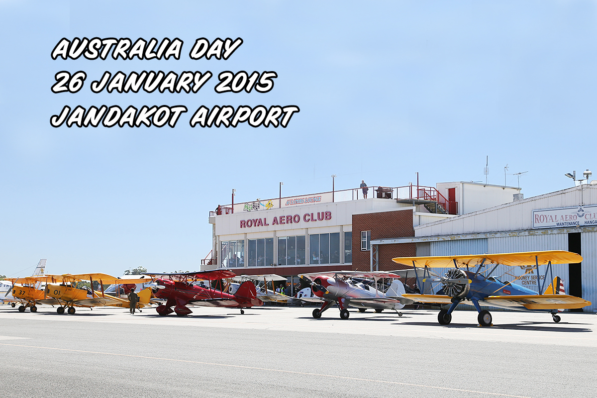 Royal Aero Club – Jandakot – Australia Day, Mon 26 January 2015.