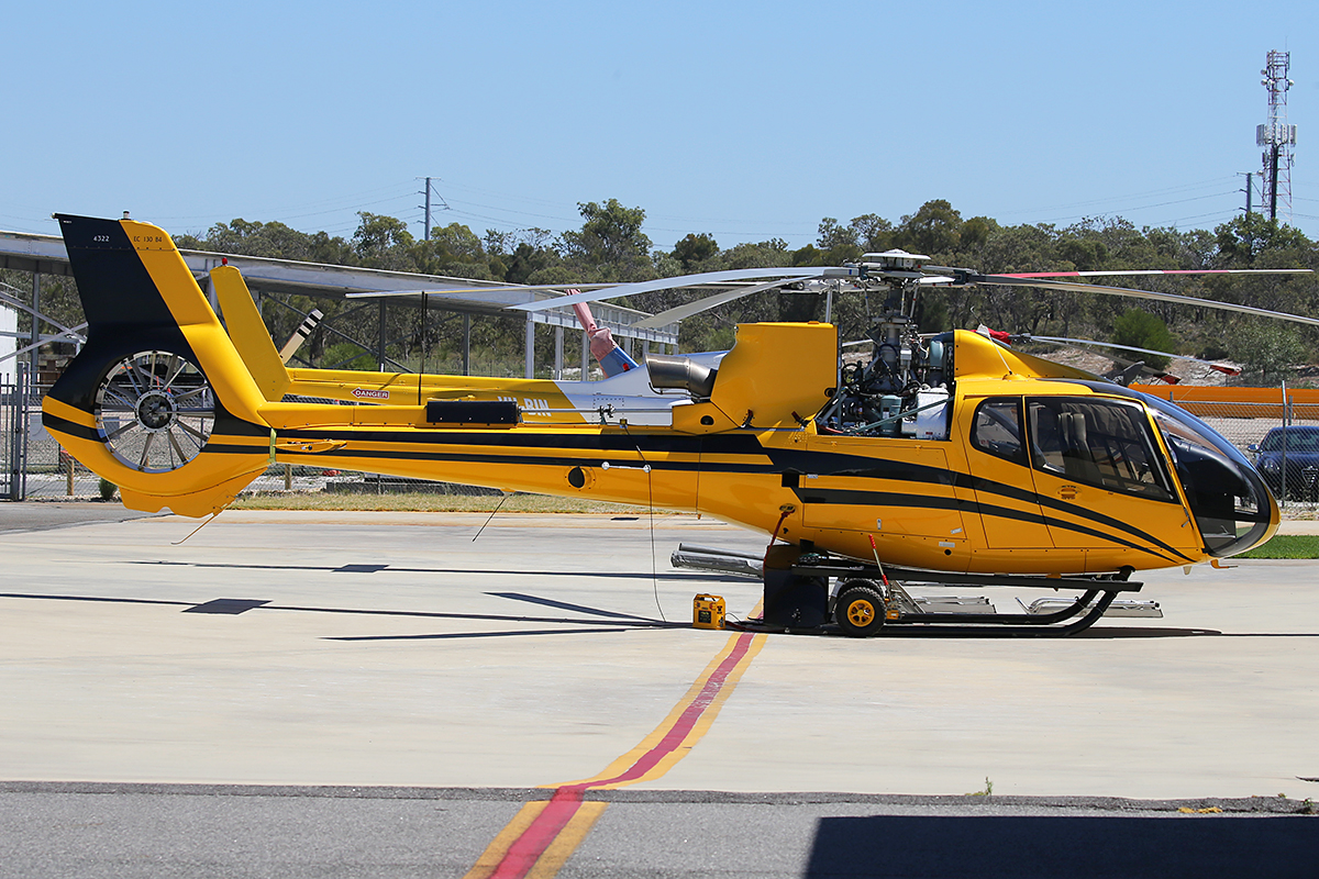 ZK-HPE Eurocopter EC-130 B4 (MSN 4322) at Jandakot Airport – 12 March 2015