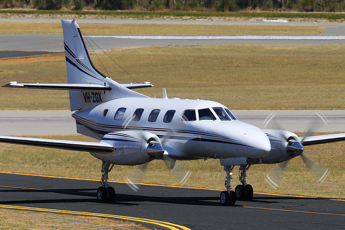 VH-ZGX Swearingen SA227-TT Merlin IIIC (MSN TT-534) of Casair, at Jandakot Airport – Wed 11 March 2015.