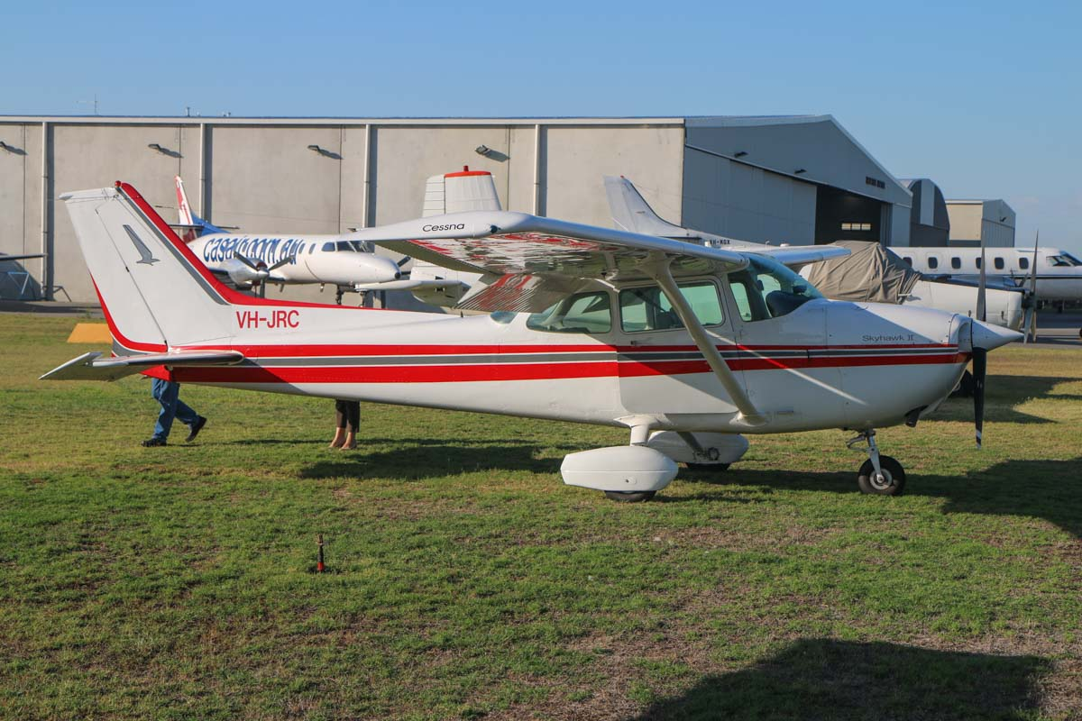 VH-JRC Cessna 172P Skyhawk II (MSN 17275675) owned by Shine Air Pty Ltd of Dardanup, WA, at Jandakot Airport - Sat 21 March 2015. Built in 1982, ex N65049. Photo © David Eyre