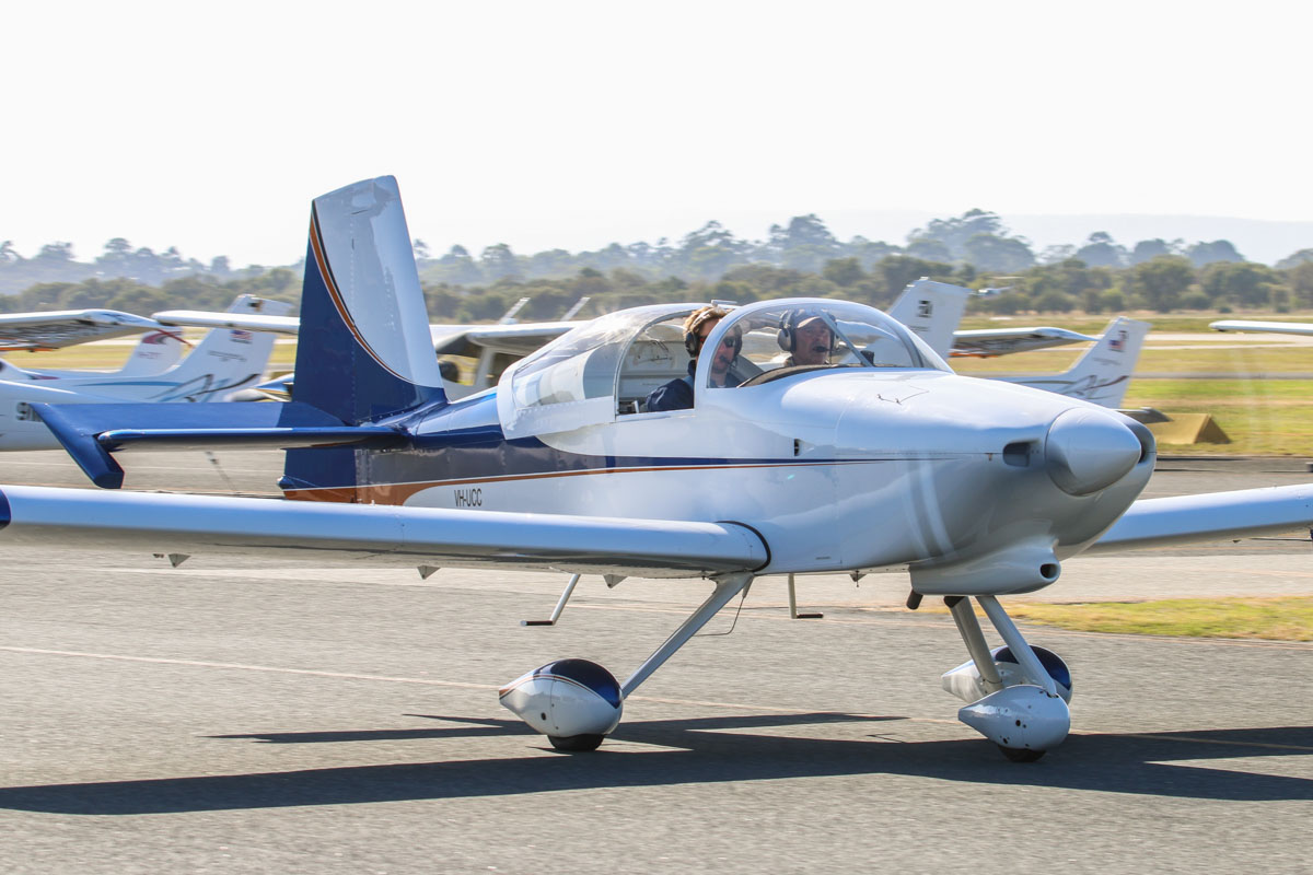VH-UCC Vans RV-9A (MSN 91578) owned by Christoper Stevenson, at Jandakot Airport - Sat 21 March 2015. Built 2009, first registered 9.4.2010. Photo © David Eyre