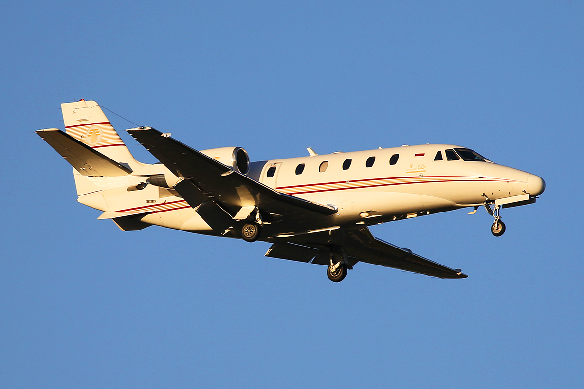 PK-RJT Cessna Citation Excel (C56X) at Perth Airport – 15 April 2015.