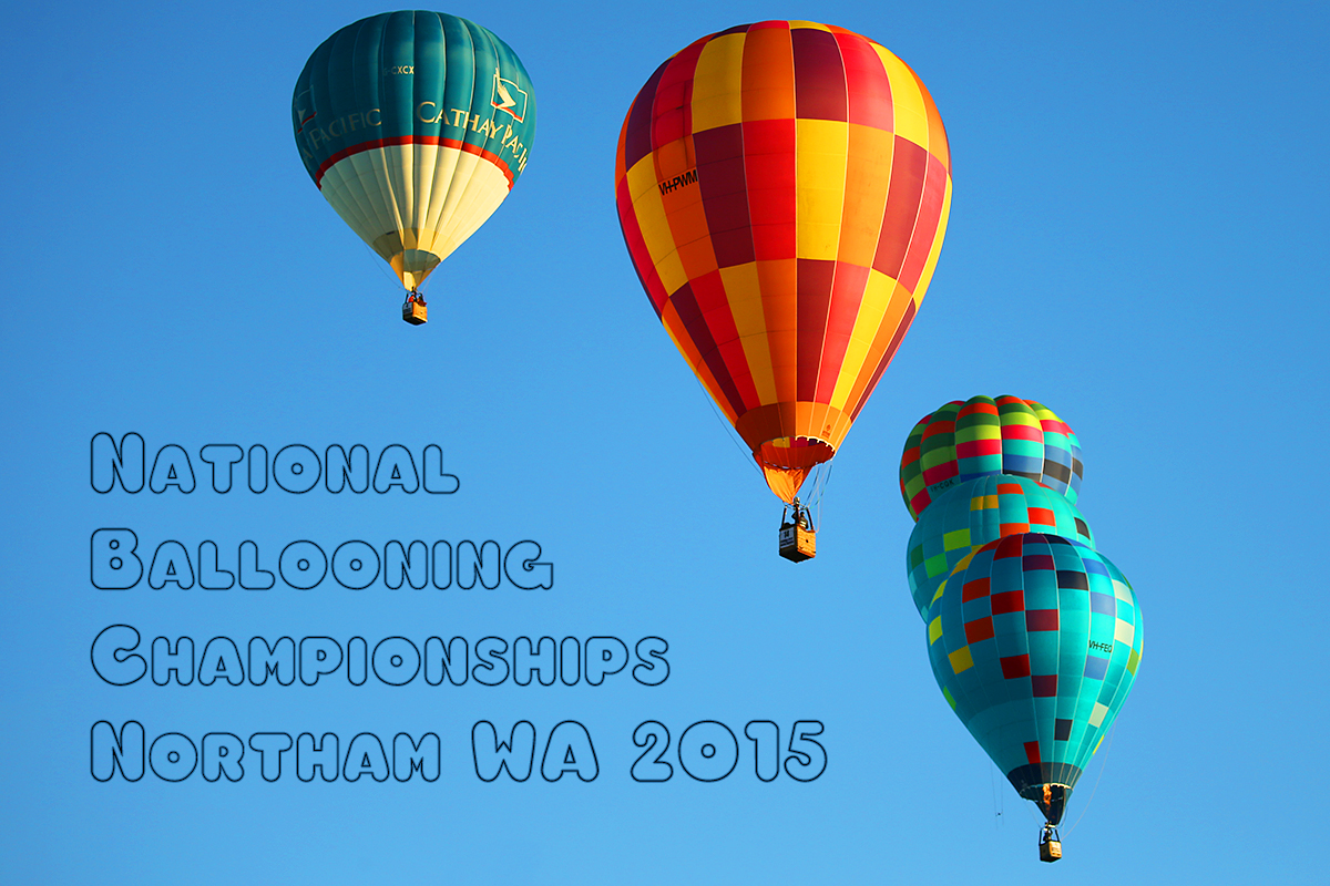 National balloon Championships, Northam 2015, Competition day three - 2 September 2015.