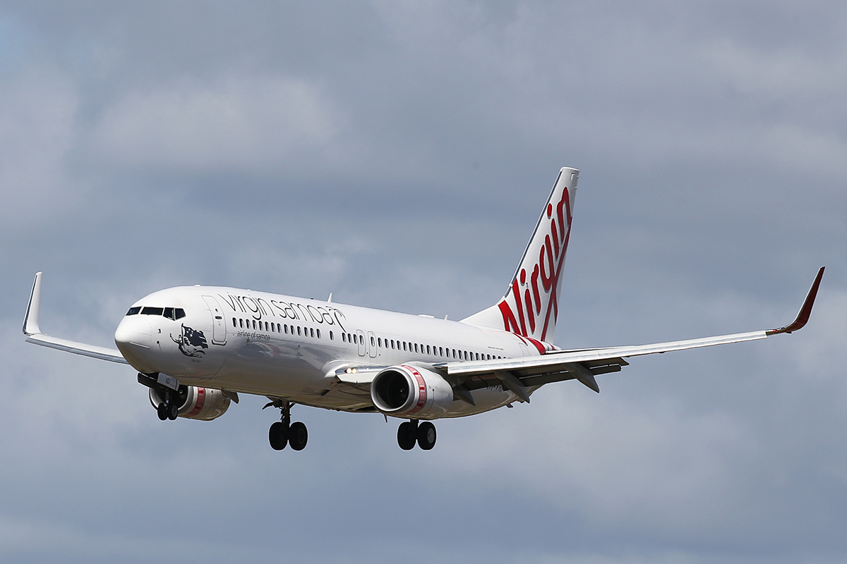 VH-YID Boeing 737-8FE (MSN 38709) of Virgin Australia at Perth Airport – 11 Sept 2015.