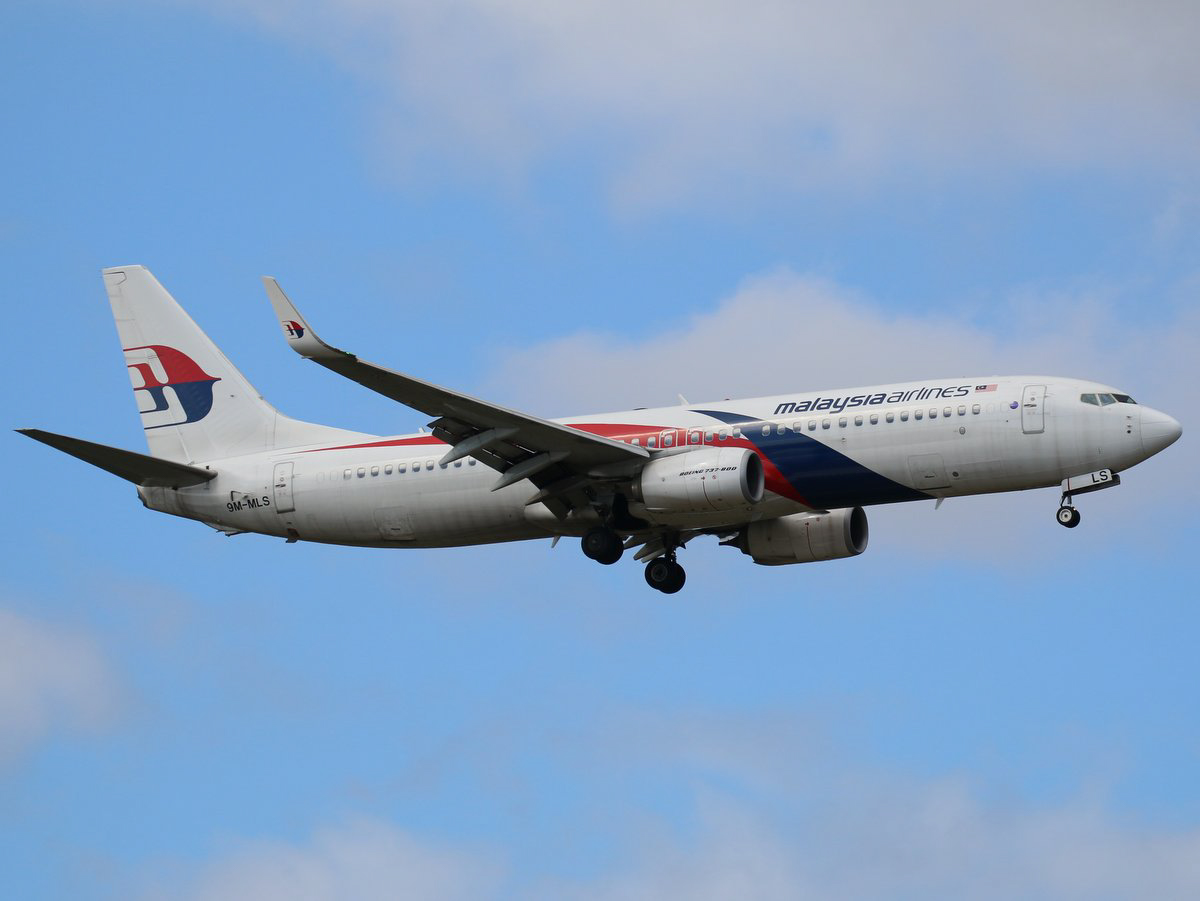 9M-MLS Boeing 737-8H6 (MSN 39333/4618) of Malaysia Airlines, at Perth Airport - Sun 13 September 2015. First visit to Perth by 9M-MLS. Flight MH121 from Kota Kinabalu, on final approach to runway 21 at 1:53pm. Photo © Jimmy Leng