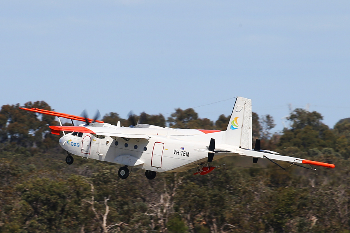 VH-TEM CASA C-212-200 (C-212-CC) (MSN 138) of Fugro Airborne Surveys/CGG Aviation Australia at Jandakot Airport – 15 Sept 2015.