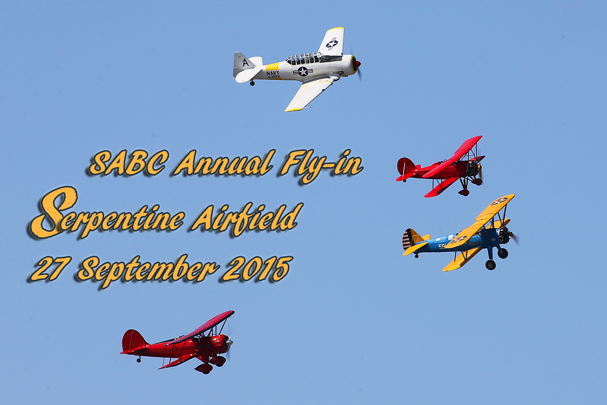 SABC Annual Fly-in Serpentine Airfield 27 September 2015