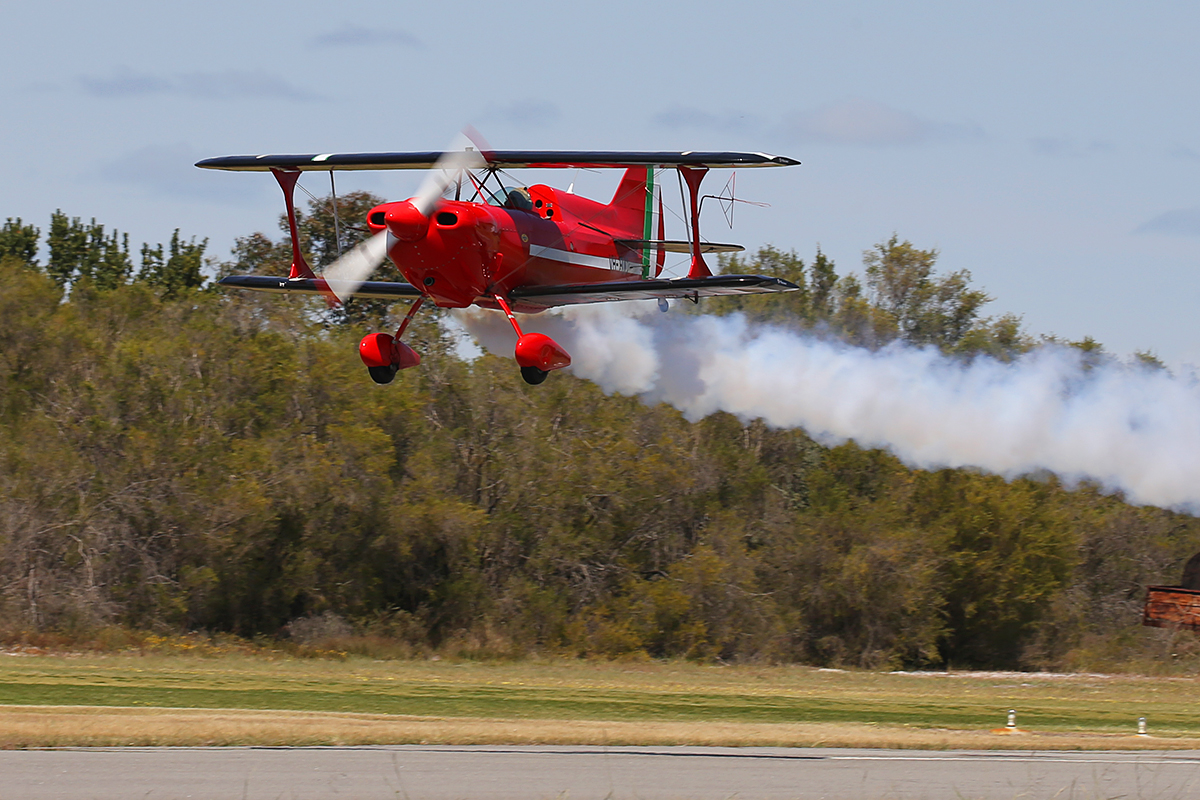 VH-FUC Pitts S-1D (MSN W89) owned by Carl Ende, at SABC Annual Fly In, Serpentine Airfield – Sun 27 September 2015.