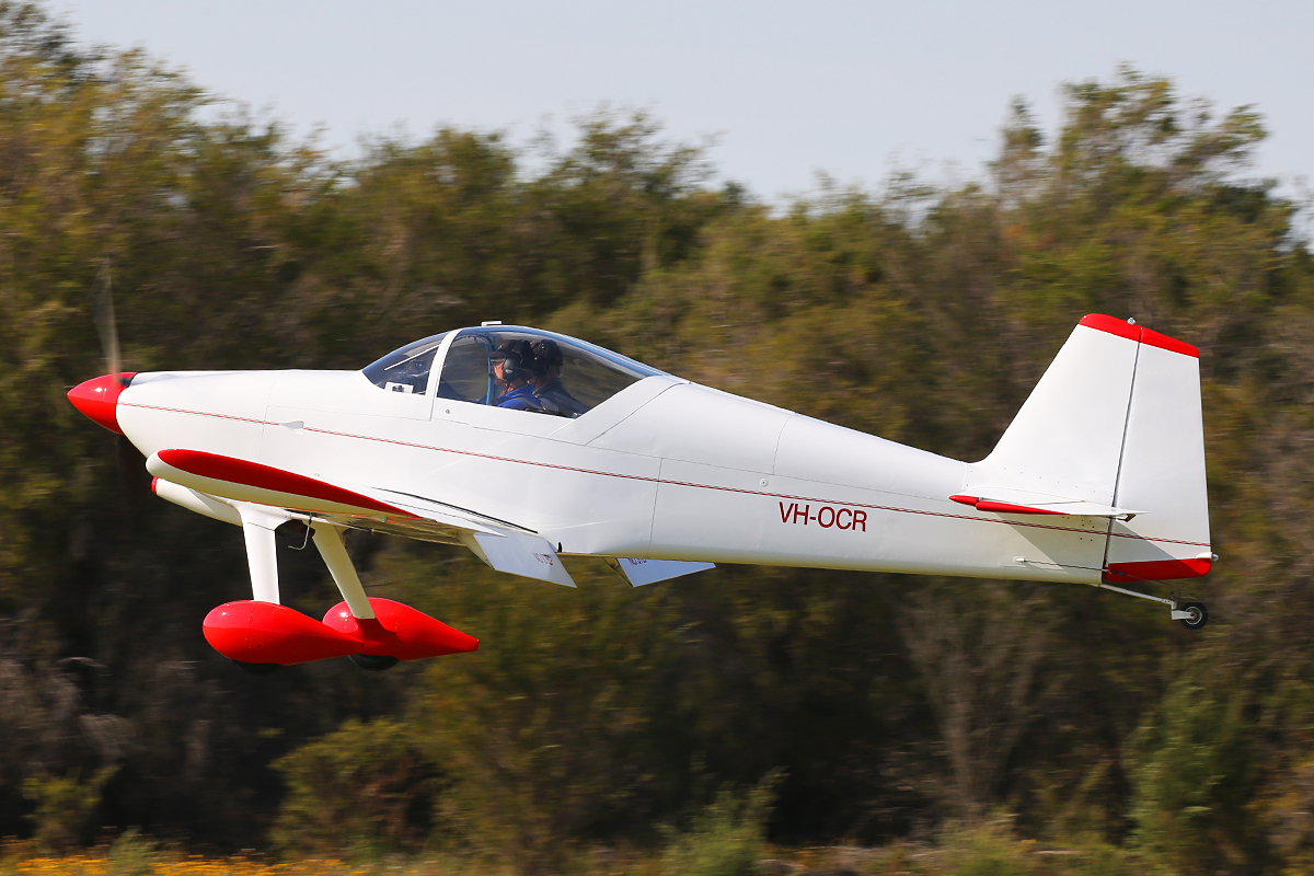 VH-OCR Vans RV-6 (MSN 22259) owned by Ian Coombe at SABC Annual Fly In, Serpentine Airfield – Sun 27 September 2015.