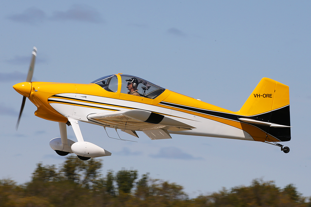 VH-ORE Vans RV-6 (MSN 24961) owned by Paul Blackney at SABC Annual Fly In, Serpentine Airfield – Sun 27 September 2015. Built in 2006, first registered 4.4.2006.