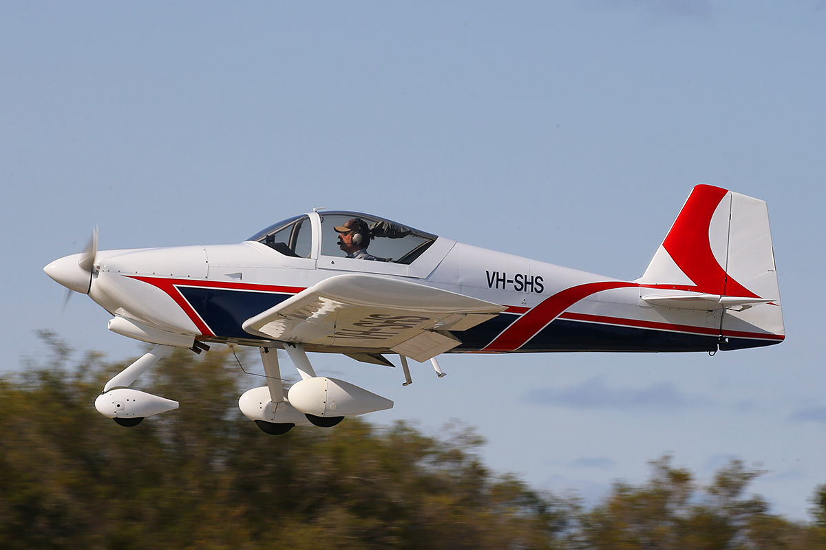 VH-SHS Vans RV-6A (MSN W255) owned by Gray Marshall, at SABC Annual Fly In, Serpentine Airfield – Sun 27 September 2015.