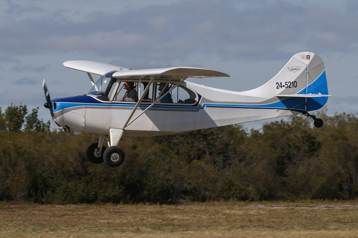 24-5210 Aeronca 7AC Champion (MSN 7AC-885), at Serpentine Airfield - Sun 27 September 2015. Built in 1946, ex VH-RCM, N82257, NC82257. Photo © David Eyre