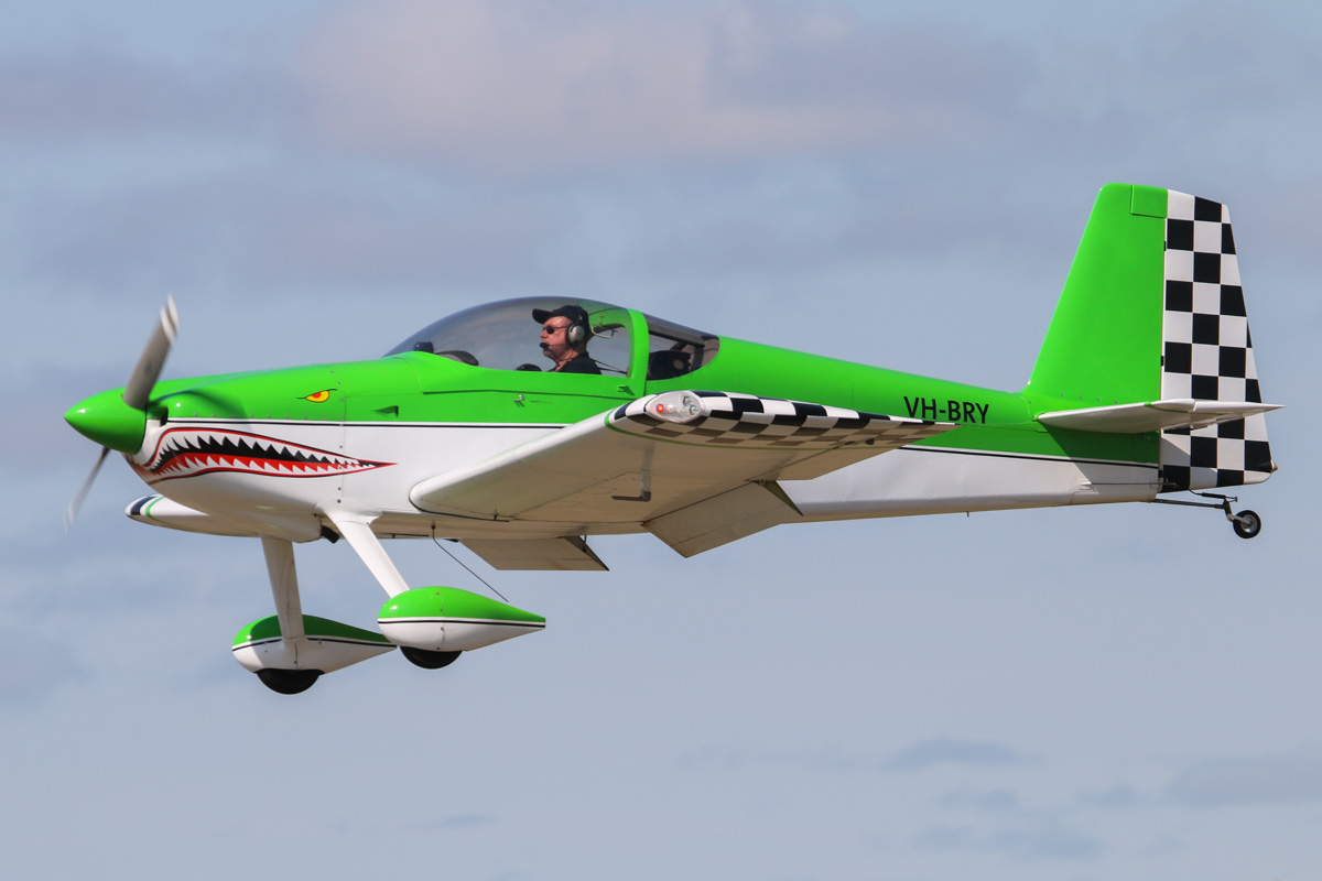VH-BRY Vans RV-7 (MSN 72145) owned by Bryan Fleming of Dalyellup, WA, at SABC Annual Fly-In, Serpentine Airfield, Sun 27 September 2015. Photo © David Eyre