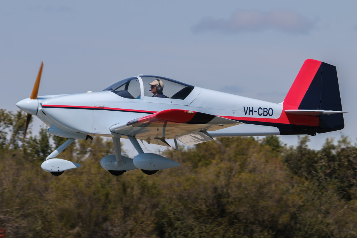 VH-CBO Vans RV-6A (MSN W192) owned by Arthur Hannington, at SABC Annual Fly In, Serpentine Airfield – Sun 27 September 2015. Built in 1998. Photo © David Eyre