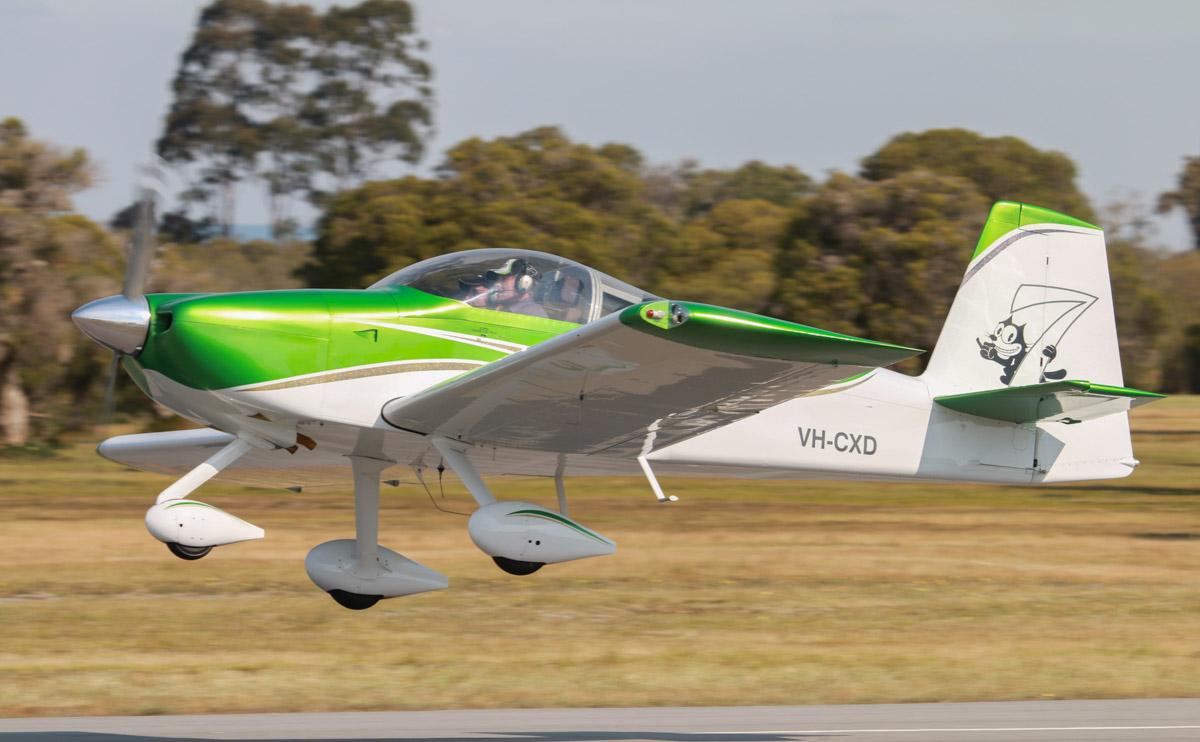 VH-CXD Vans RV-7A (MSN 72334) owned by Colin D Coxall, of Albany, WA, at SABC Annual Fly-in, Serpentine Airfield - Sun 27 September 2015. Photo © David Eyre