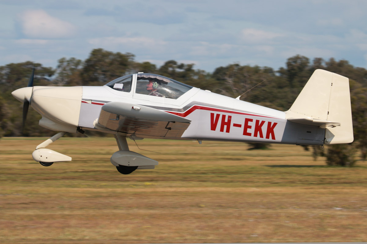 VH-EKK Vans RV-6A (MSN 23206, ex N102PC) owned by Trevor Fernihough, at SABC Annual Fly-in, Serpentine Airfield - Sun 27 September 2015. Photo © David Eyre