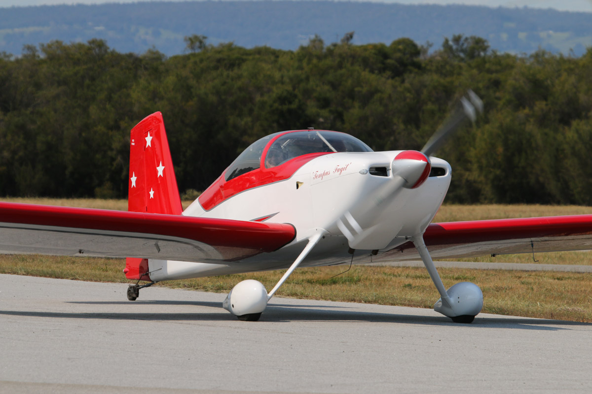 VH-MAI Vans RV-7 (MSN 73184) named 'Tempus Fugit' (Latin for 'Time Flies'), owned by Robert Main of Boyanup, WA, at SABC Annual Fly-In, Serpentine Airfield - Sun 27 September 2015. Photo © David Eyre