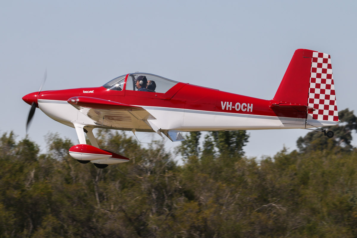 VH-OCH Vans RV-7 (MSN 73779) owned by Carl Hanson, of Geraldton, WA, at SABC Annual Fly-In, Serpentine Airfield - Sun 27 September 2015. Photo © David Eyre