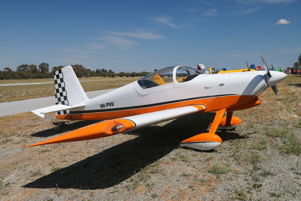 VH-PVU Vans RV-7 (MSN 73623) owned by Peter Vermeersch, of Esperance, WA, at SABC Annual Fly-In, Serpentine Airfield - Sun 27 September 2015. Photo © David Eyre