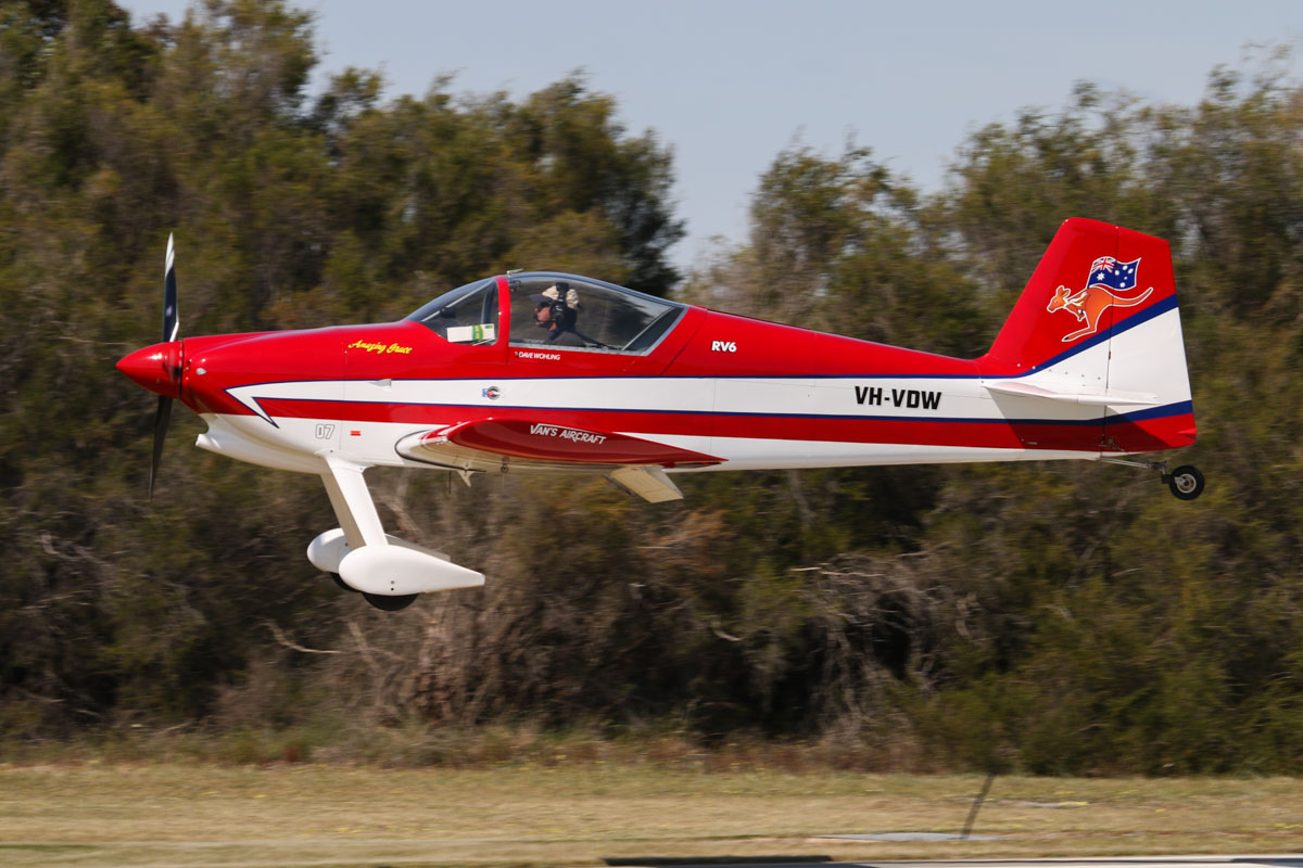 VH-VDW Vans RV-6 (MSN N455), named 'Amazing Grace', owned by David Wohling, of Esperance, WA, at SABC Annual Fly-In, Serpentine Airfield - Sun 27 September 2015. Photo © David Eyre